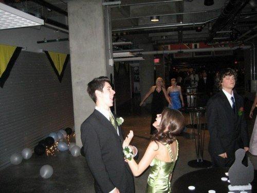 David & Lucy at Homecoming
