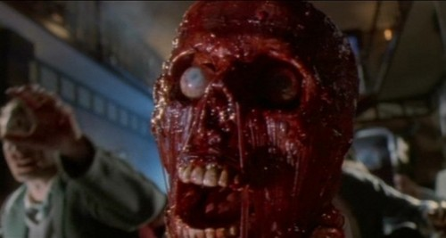 Filem Seram kertas dinding with an abattoir titled Dead Alive aka Braindead (1992) Stills