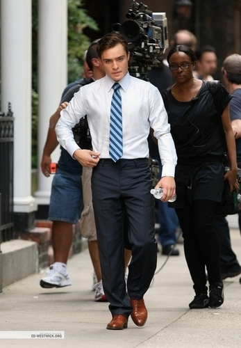 Ed-Chuck Bass - ed-westwick Photo