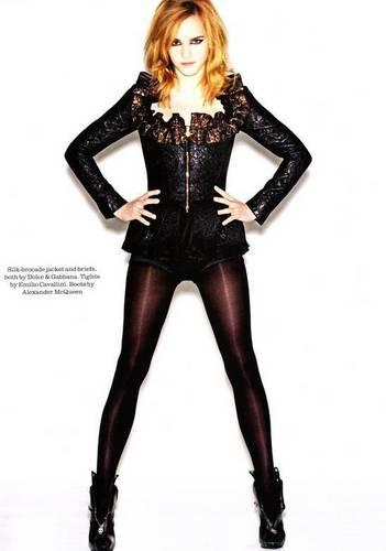 Em on Elle Magazine