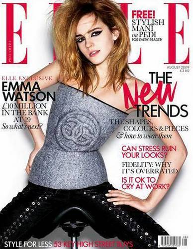 Emma in Elle magazine