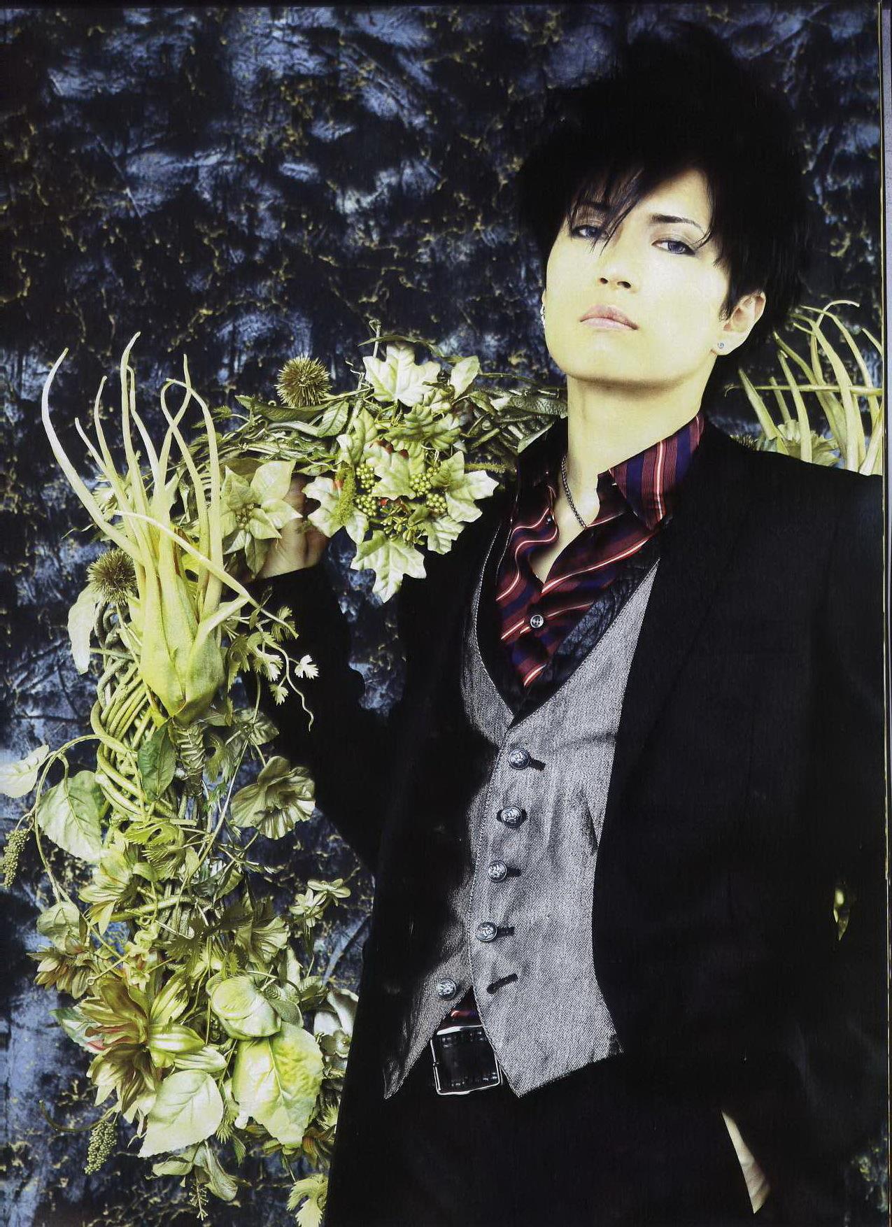 Gackt - Arena magazine scans - gackt photo