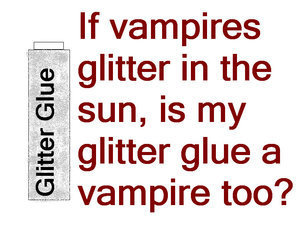 Glitter Glue Vampiri#From Dracula to Buffy... and all creatures of the night in between.
