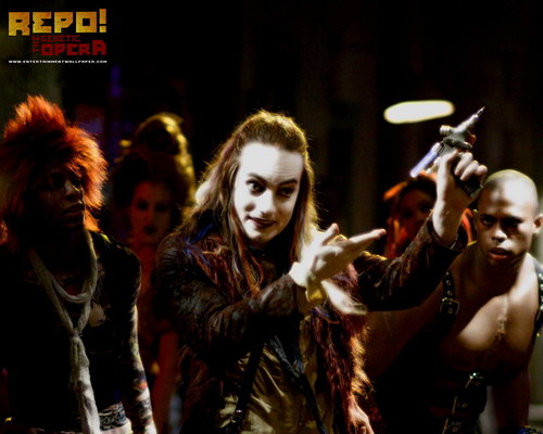 Repo! The Genetic Opera wallpaper probably containing a concert titled Graverobber :]