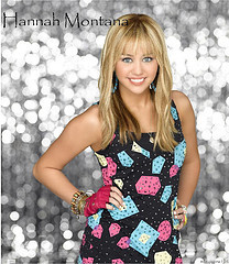 Hannah Montana's new outfit