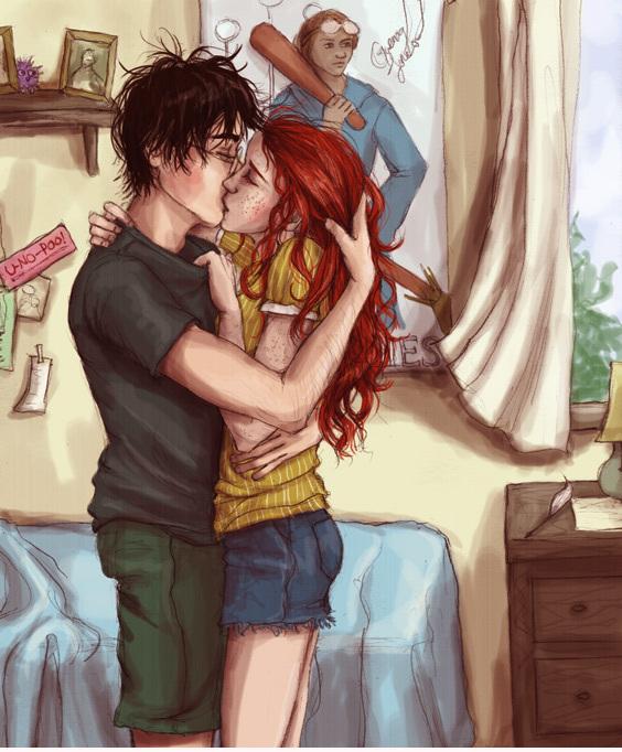 Harry and Ginny - Harry Potter shabiki Art (6912753) - fanpop
