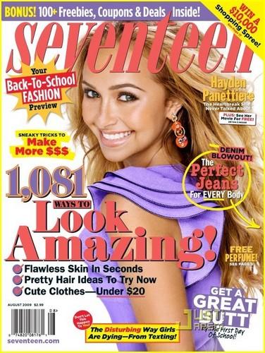 Hayden- 2009 Seventeen Magazine