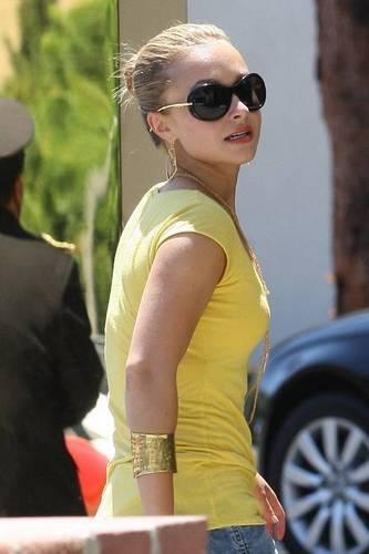 Hayden in Beverly Hills