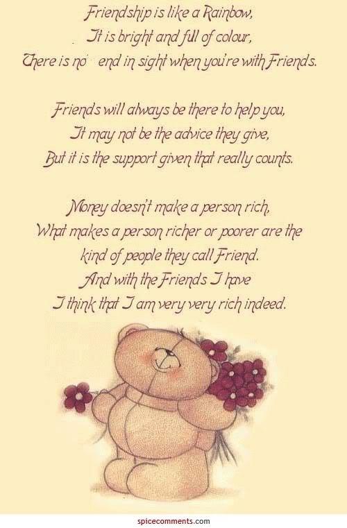 Friends Hugs Kisses Quotes