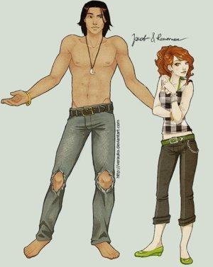 Jacob & Renesmee - Sunrise fan Art (6963974) - fanpop