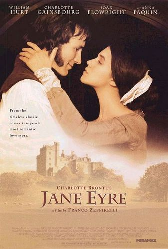 Jane Eyre Movie Poster 1996