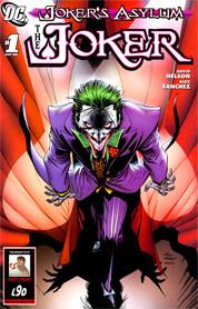 Joker comik book