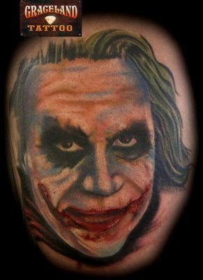 Joker's tattoos!!!!