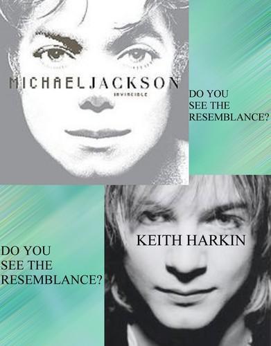 Keith Harkin/Michael Jackson - Do Du See The Resemblance??