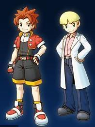 Pokemon Ranger Shadows of Almia wallpaper probably with anime titled Keith and Prof. Isaac