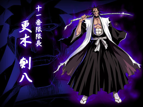 anime bleach wallpaper called Kenpachi