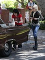 Kristen Stewart & Dakota Fanning filming The Runaways - July 1, 2009  - twilight-series photo