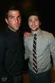 Matt and Zachary Quinto