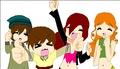 Me and mah fav characters :) - total-drama-island fan art