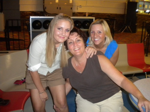 Me, my mom, and my sister-in-law.:)