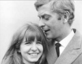 Michael Caine and Jane Asher  - michael-caine photo