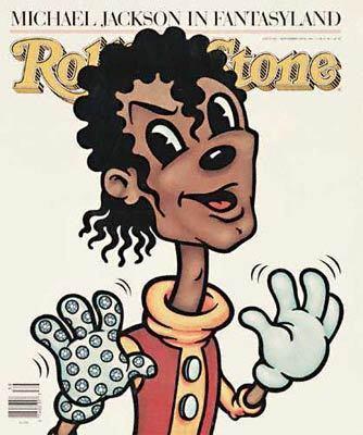 Michael in Rolling Stone