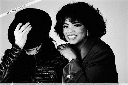Michael with Oprah