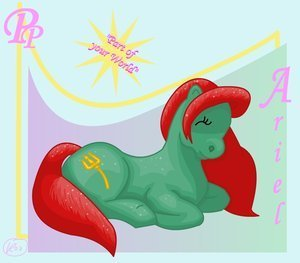 My Little Pony: Ariel - disney-princess Fan Art