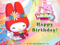 My Melody Birthday e-Card - my-melody photo