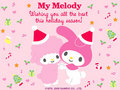 My Melody Christmas e-Card - my-melody photo