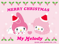 My Melody Christmas e-Card