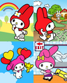 My Melody Collage - my-melody photo