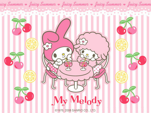 My Melody Mini 壁纸