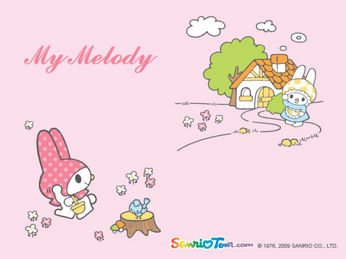 My Melody Mini দেওয়ালপত্র