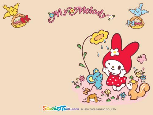 My Melody Mini hình nền