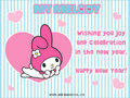 My Melody New Years e-Card