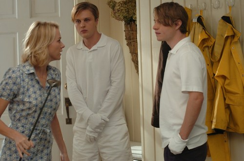 Naomi Watts, Michael Pitt & Brady Corbet in Funny Games