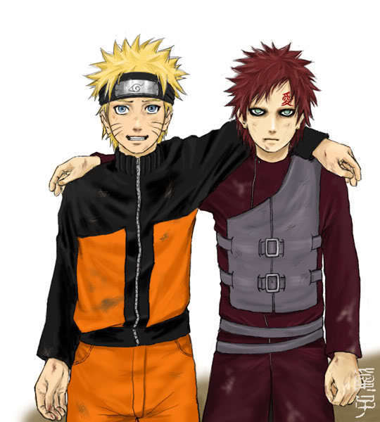 Naruto & Gaara - Naruto & Gaara FRIEND'S Photo (6981855) - Fanpop