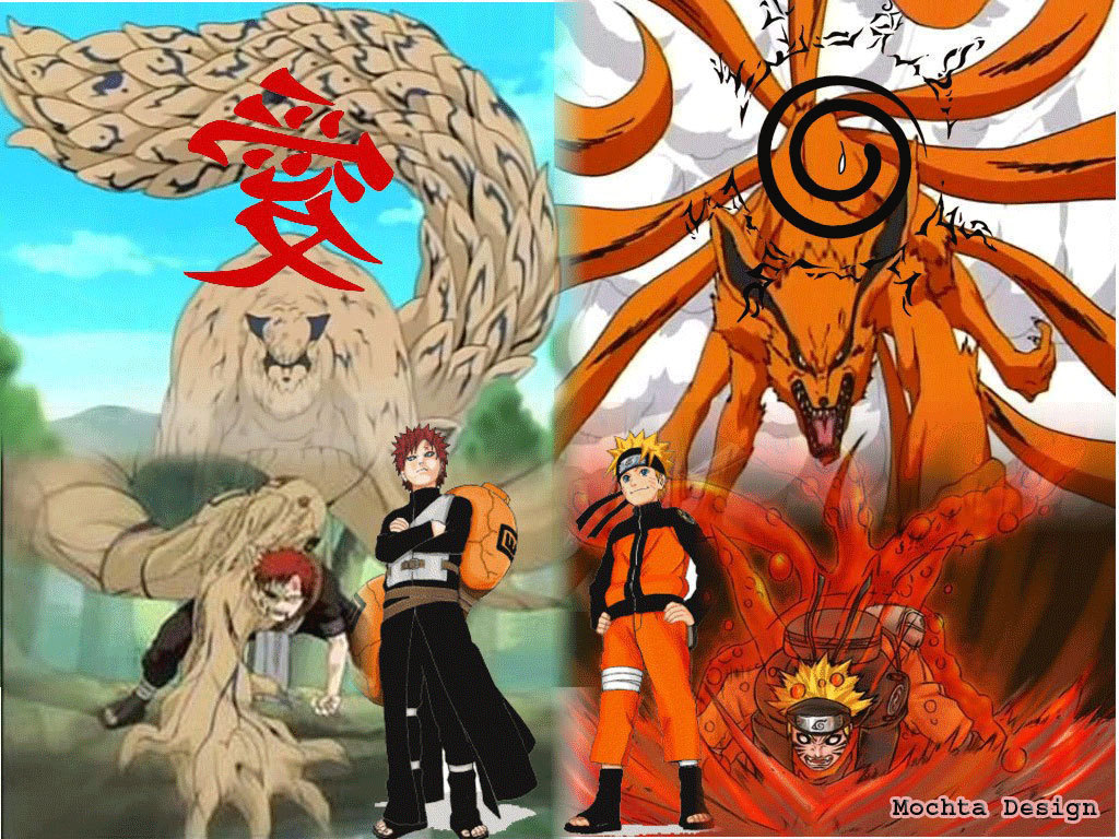 Naruto and gaara free wallpaper pc wolipercom