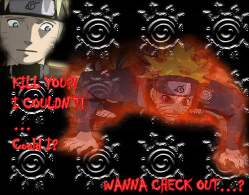 Naruto kyuubi jubah, berjubah