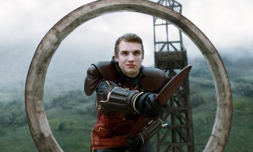New Half-Blood Prince stills - Cormac McClaggen playing quidditch