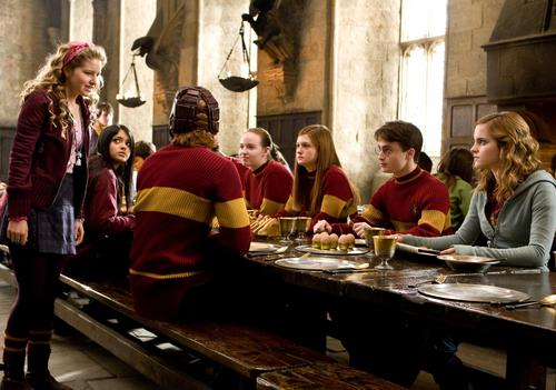 New Half-Blood Prince stills - Quidditch breakfast