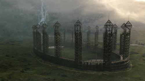 New Half-Blood Prince stills - Quidditch pitch