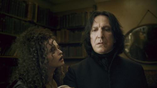 New Half-Blood Prince stills - Snape and Bellatrix