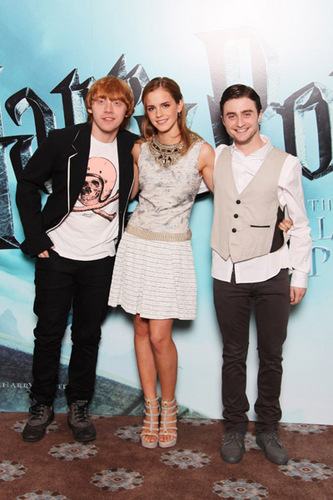 New 写真 of Cast at ロンドン Photocall for Harry Potter and the Half-Blood Prince