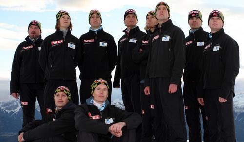 Norway team.