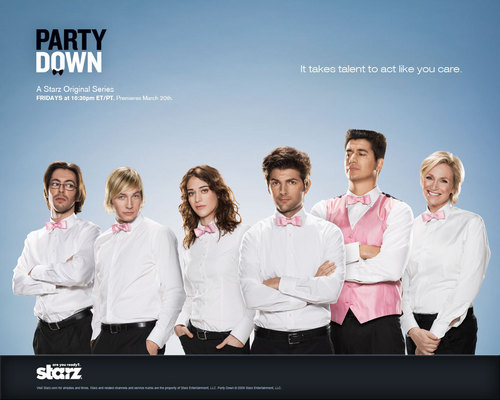 Party Down 壁紙