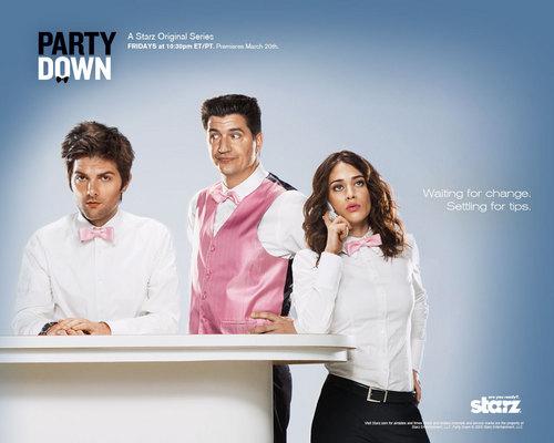 Party Down wallpaper
