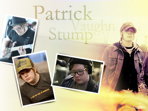 Patrick Stump wallpaper possibly containing an electric refrigerator titled Patrick Stump