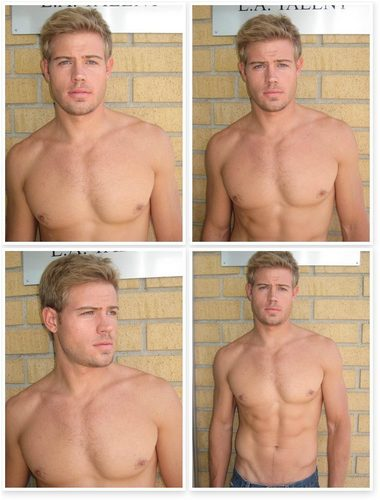 Trevor Donovan wallpaper containing a hunk titled Polaroids